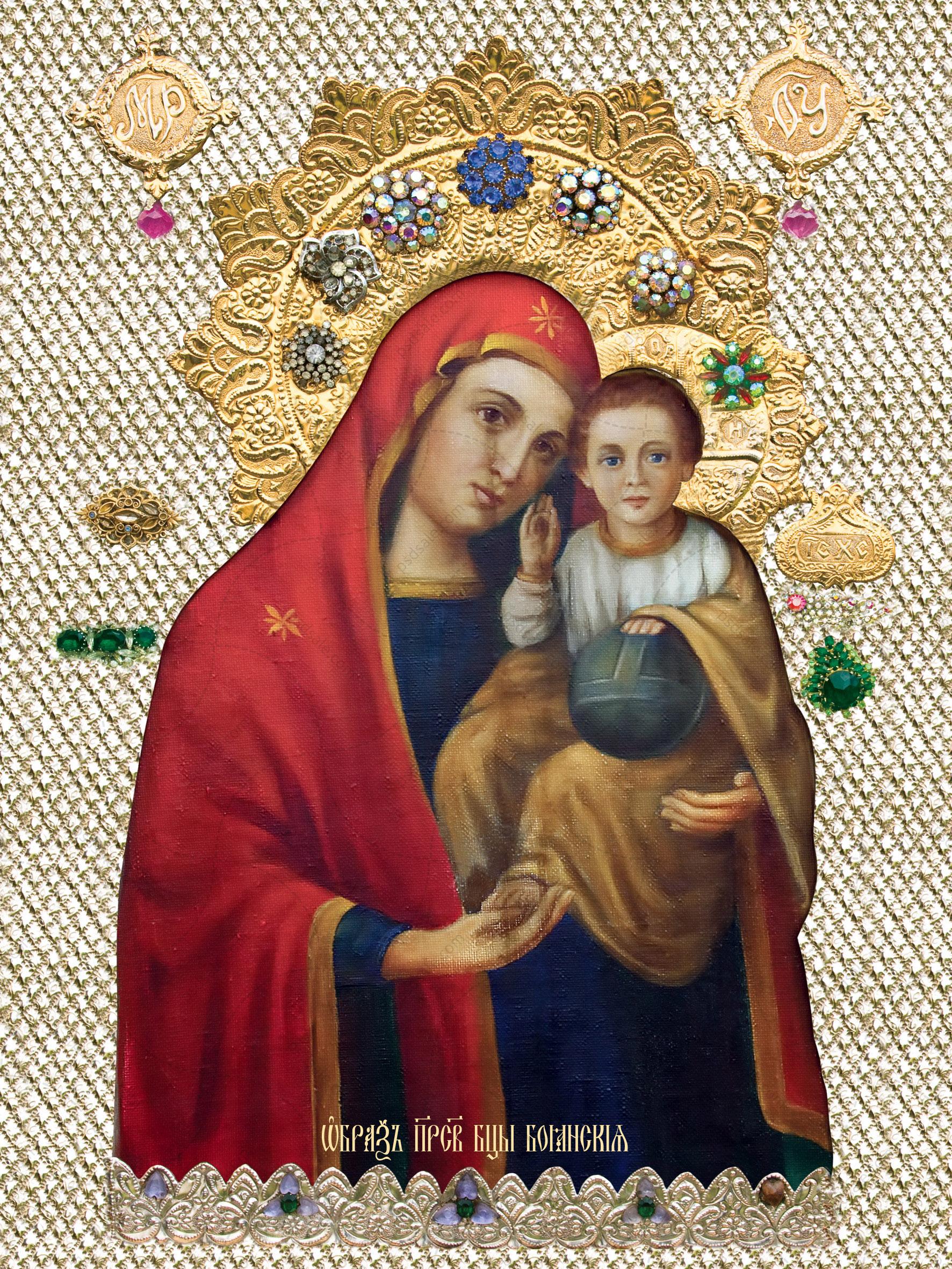Боянская икона божьей матери