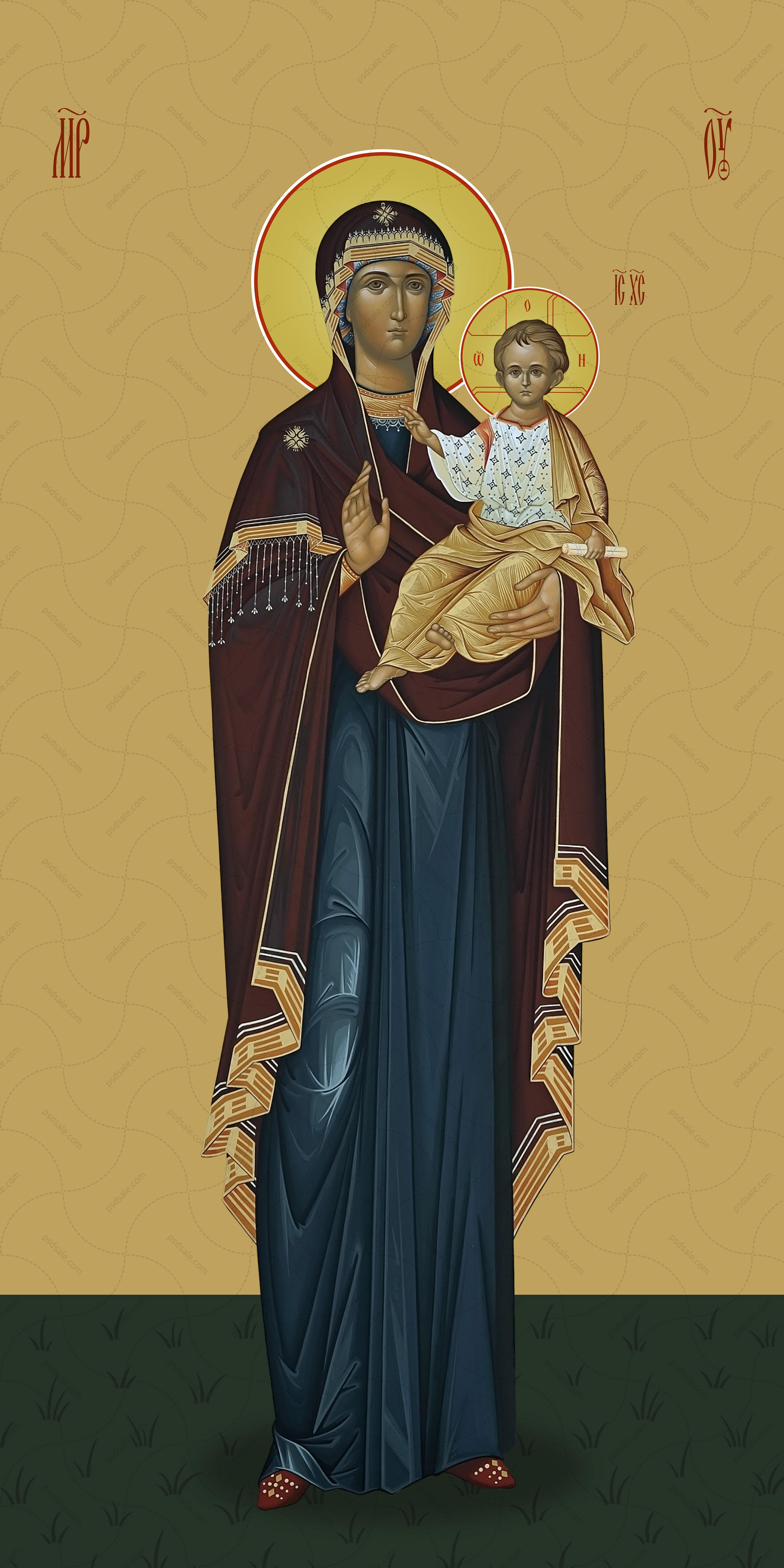 Мерная икона, Пресвятая Богородица