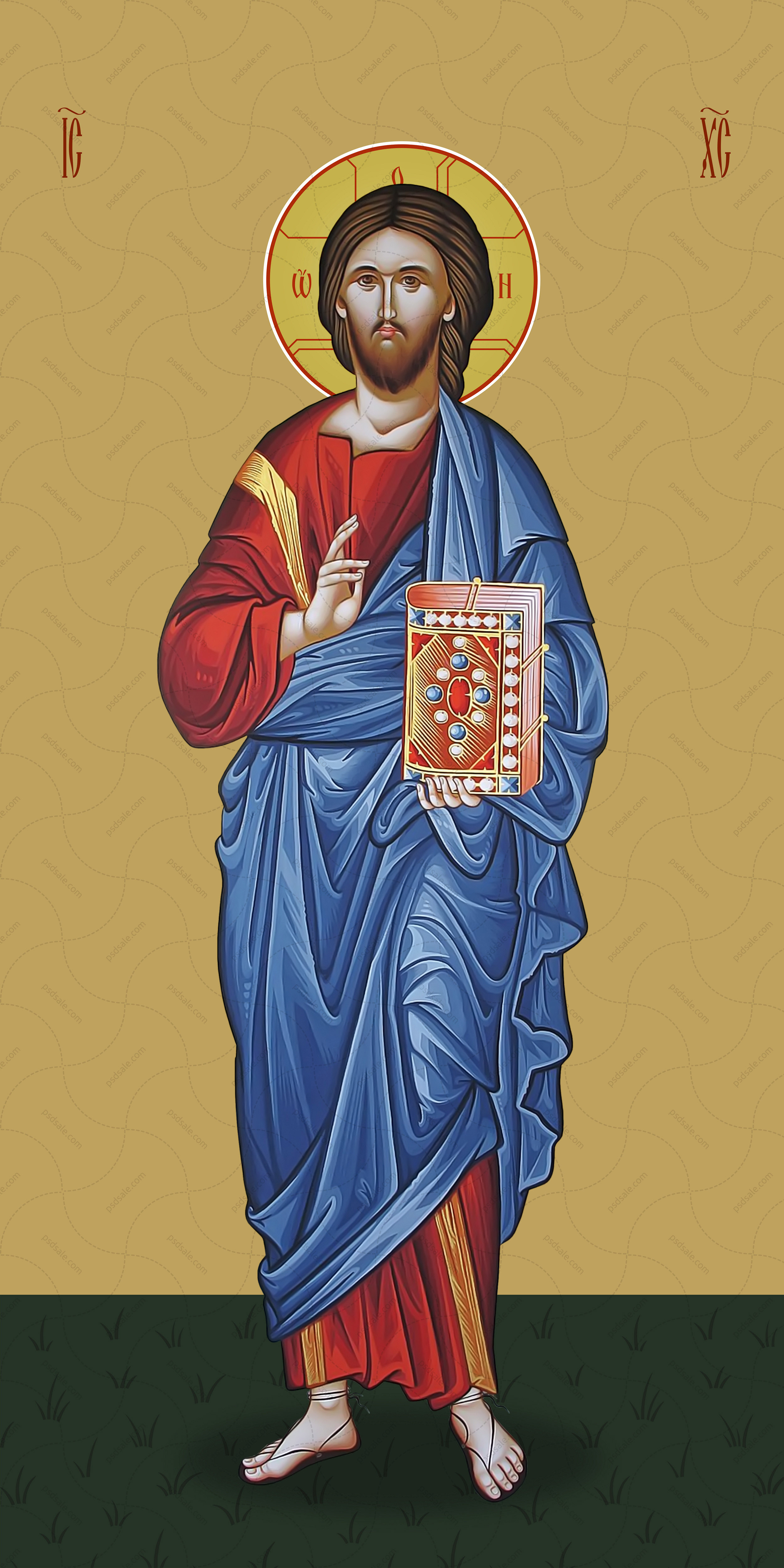 Мерная икона, Господь Вседержитель