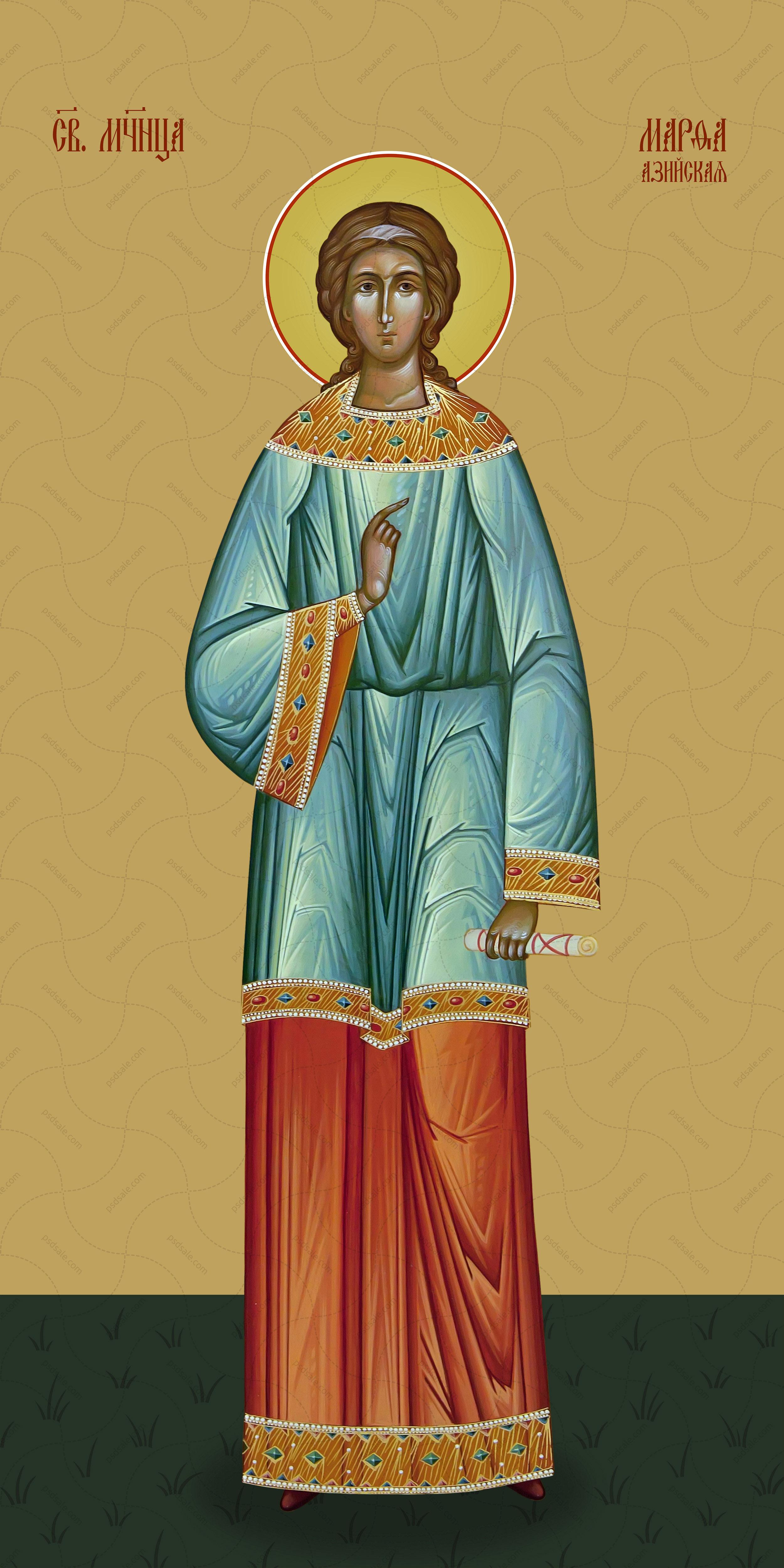Мерная икона, Марфа, святая