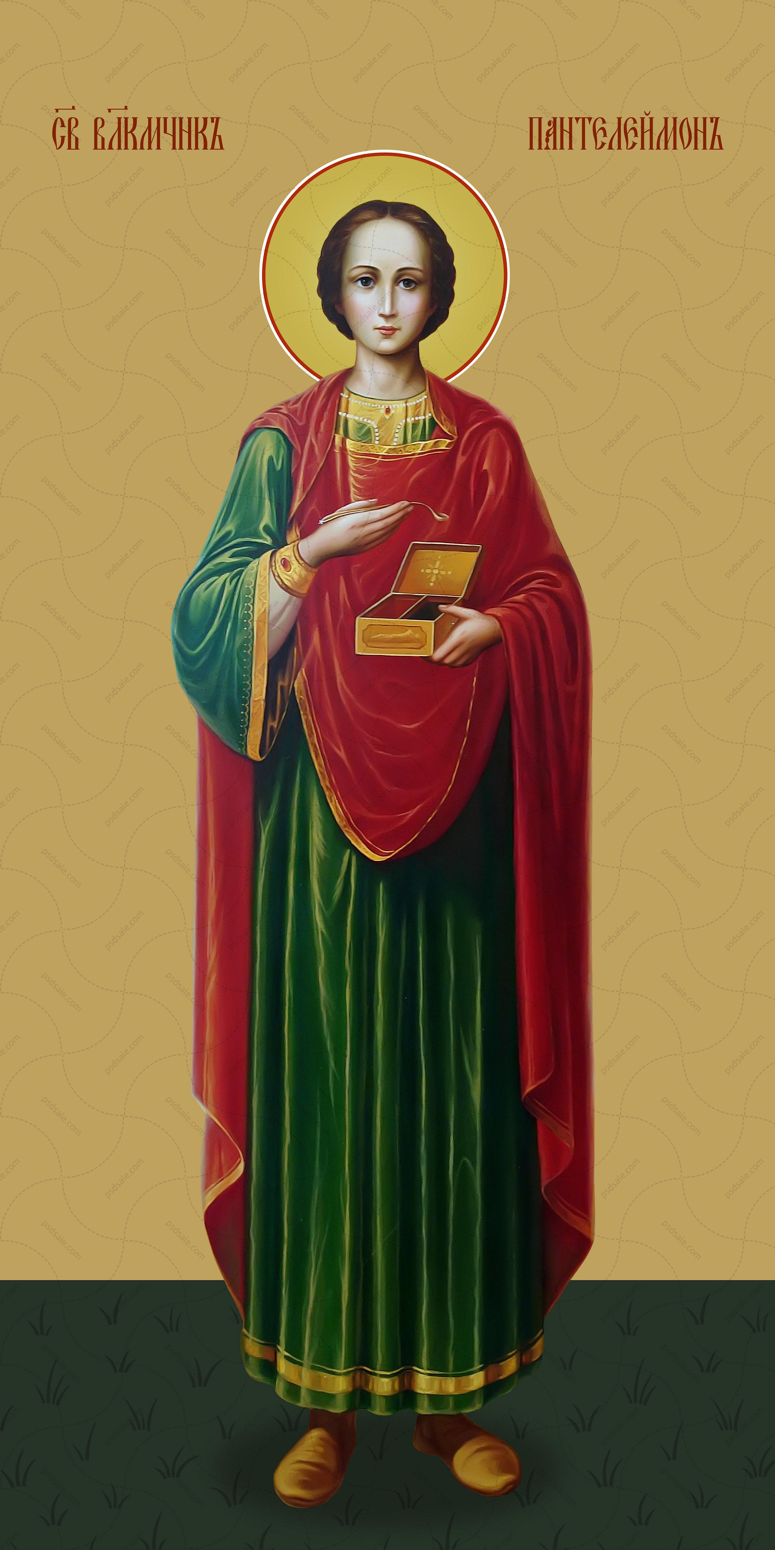 Мерная икона, Пантелеймон, святой