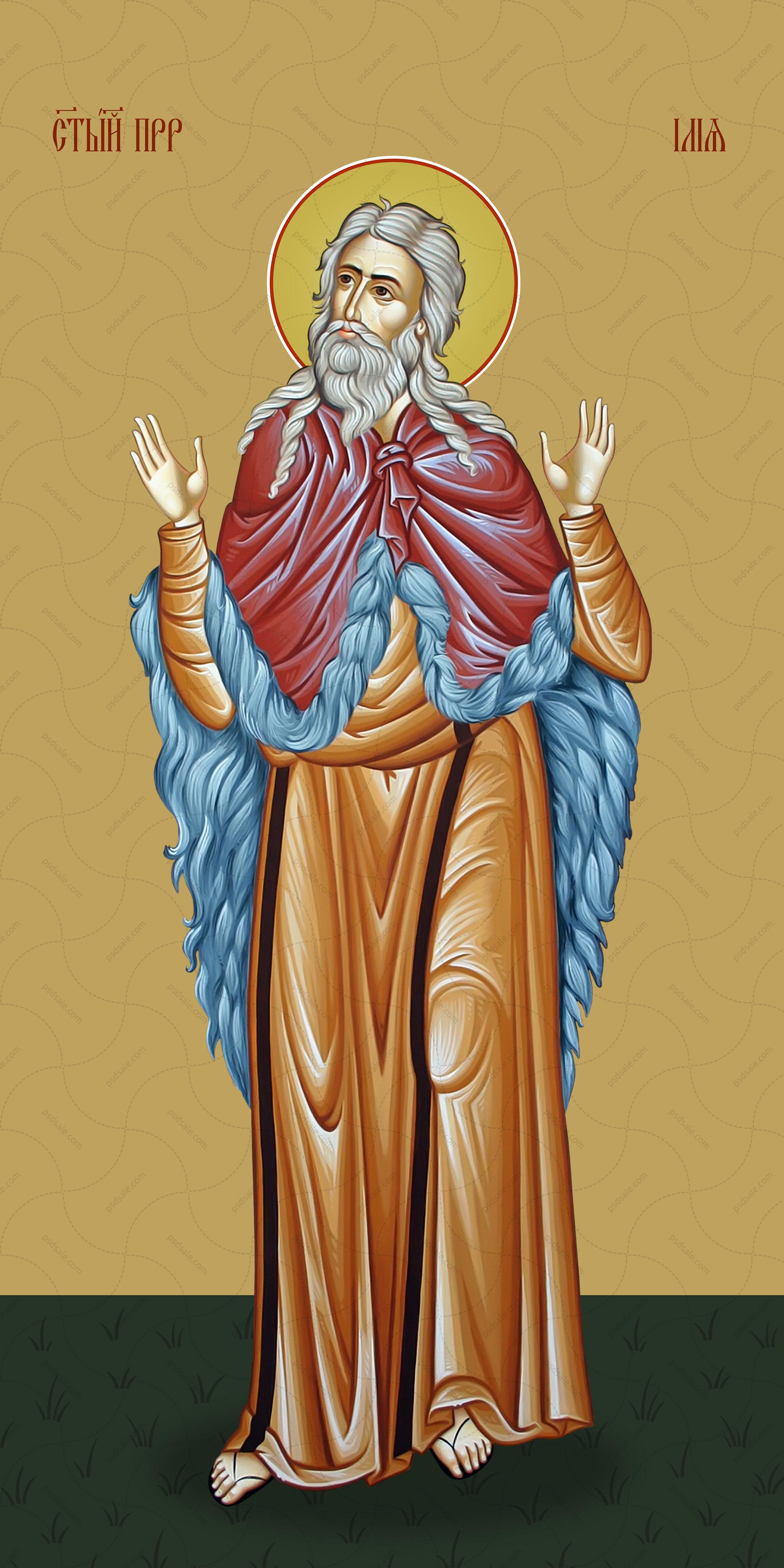 Мерная икона, Пророк Илья