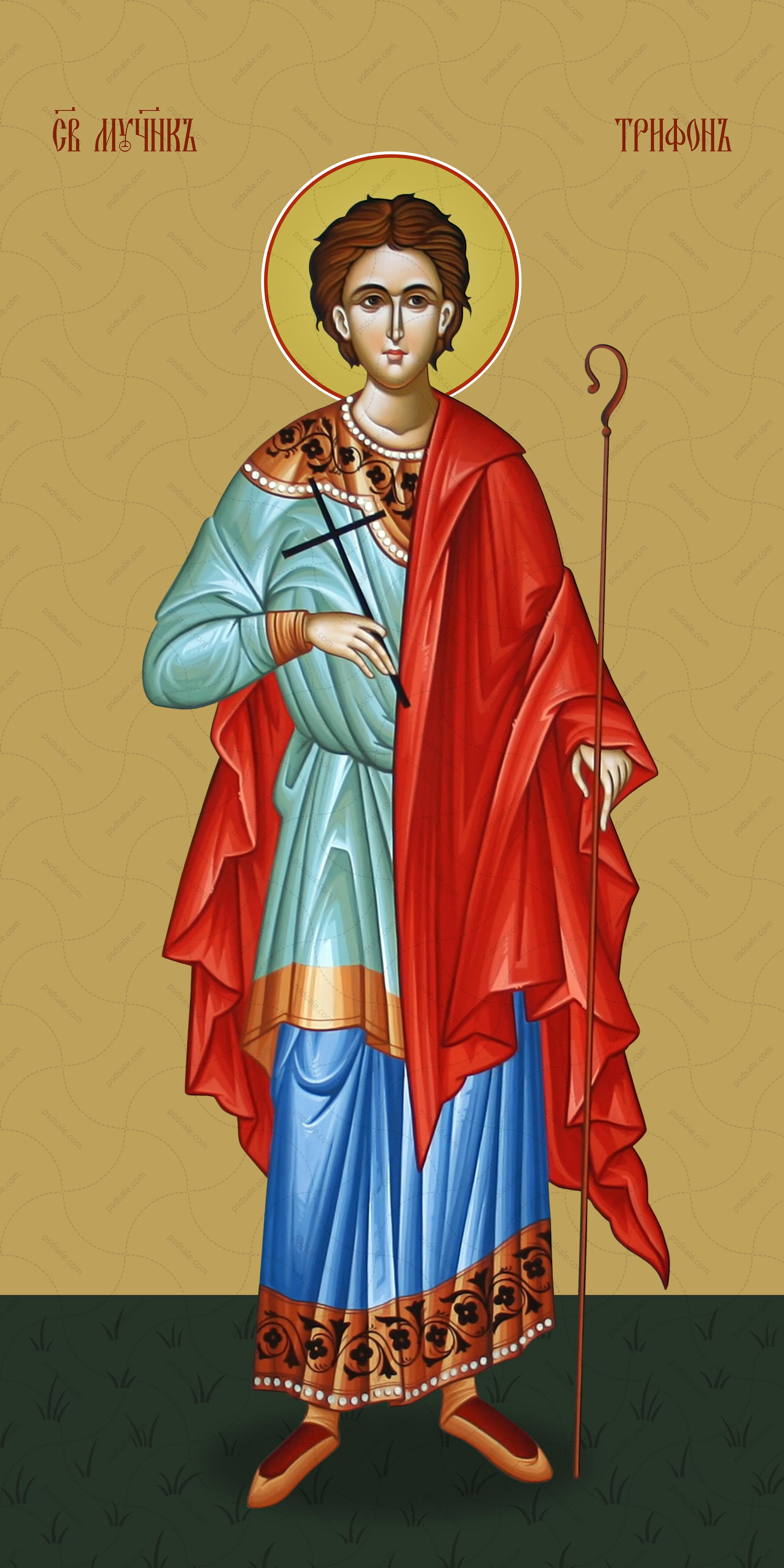 Мерная икона, Трифон Апамейский, мученик