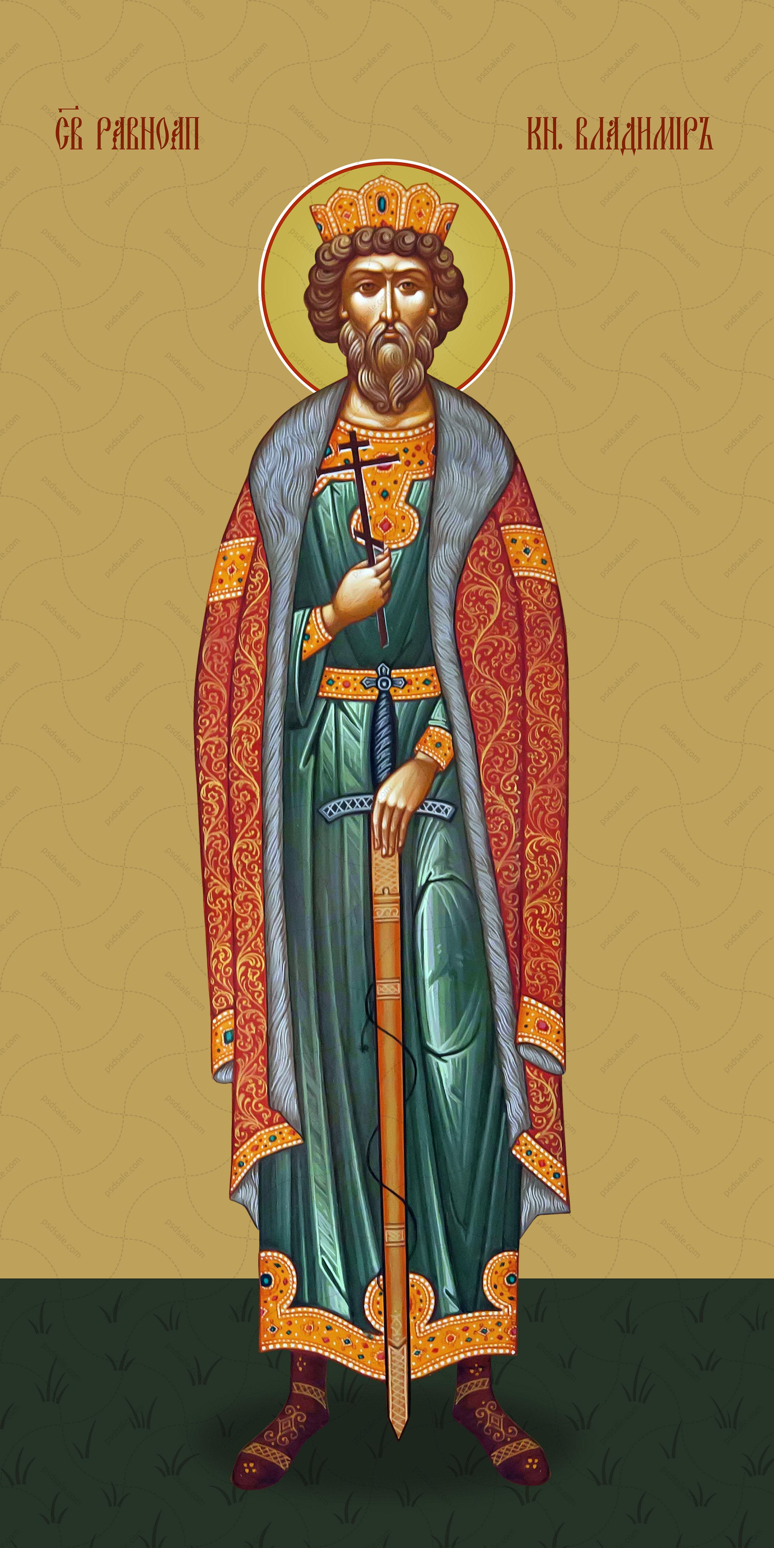 Мерная икона, Владимир, святой князь