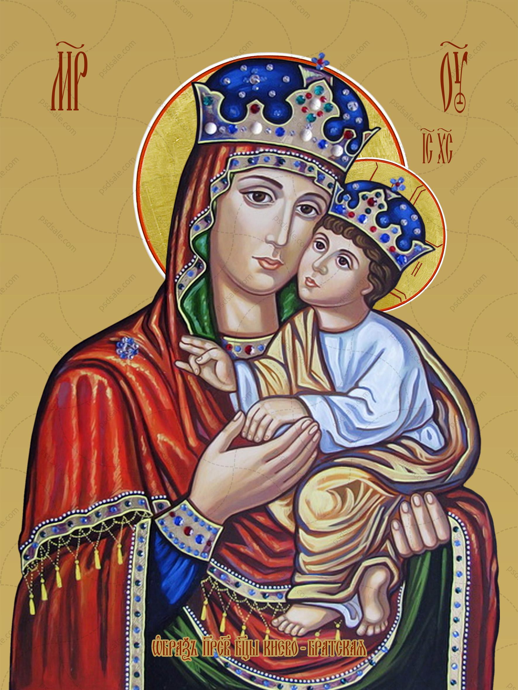 Киево-Братская икона божьей матери