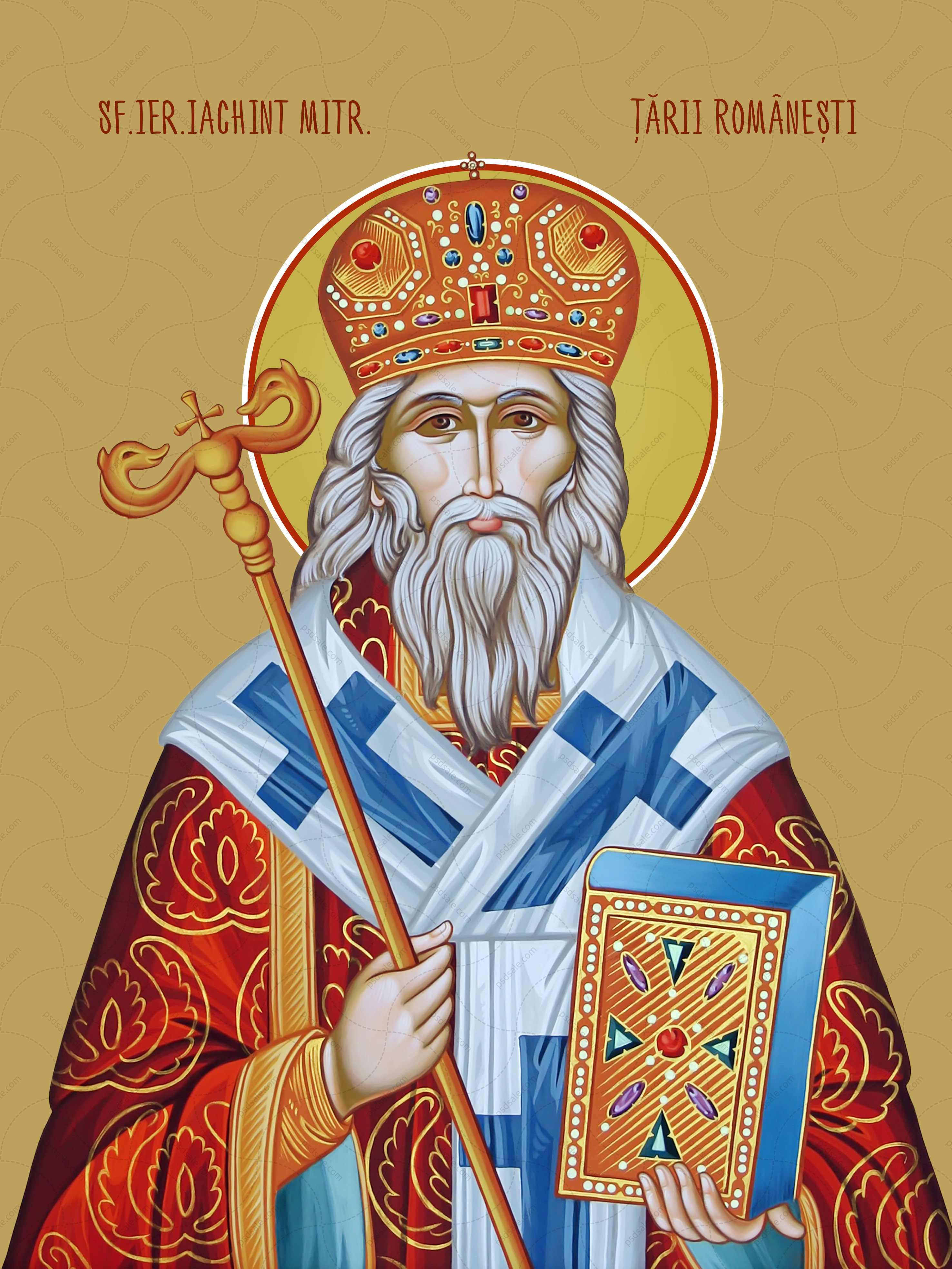 Яхинт, святой / Sf Iachint, Mitropolitul Ţării Româneşti