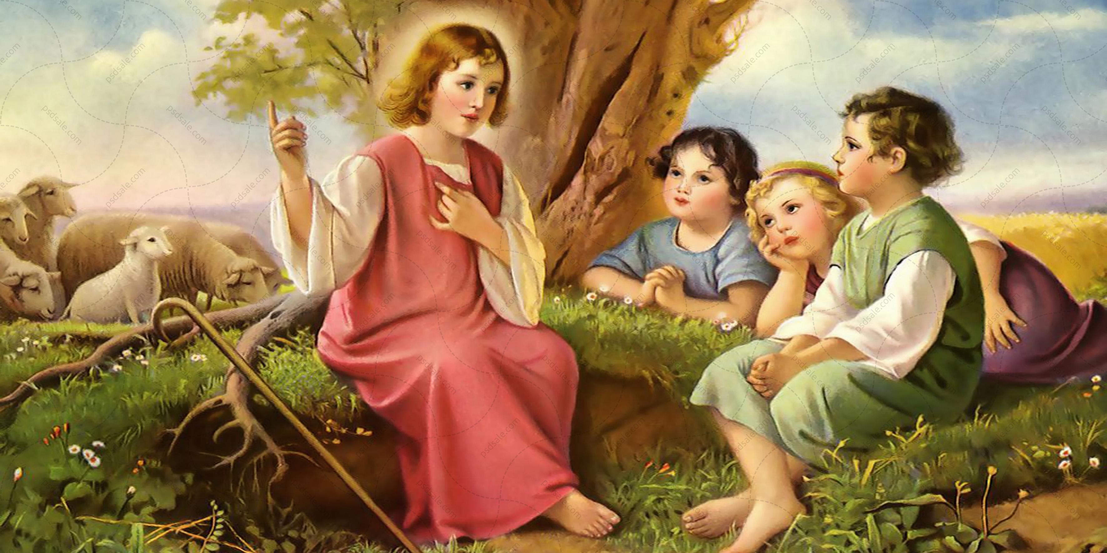 Иисус маленький пастырь