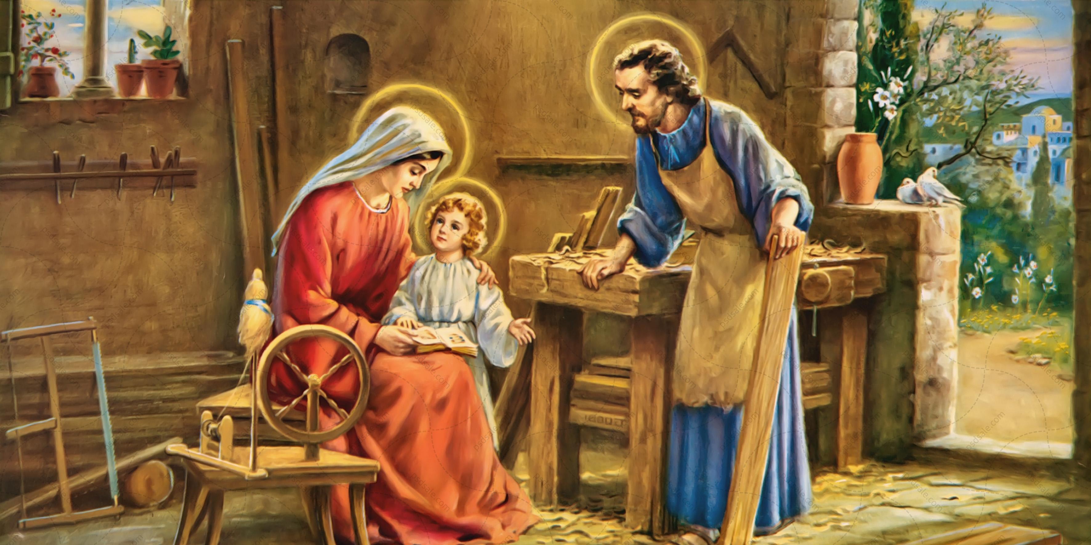 Святая семья, плотник