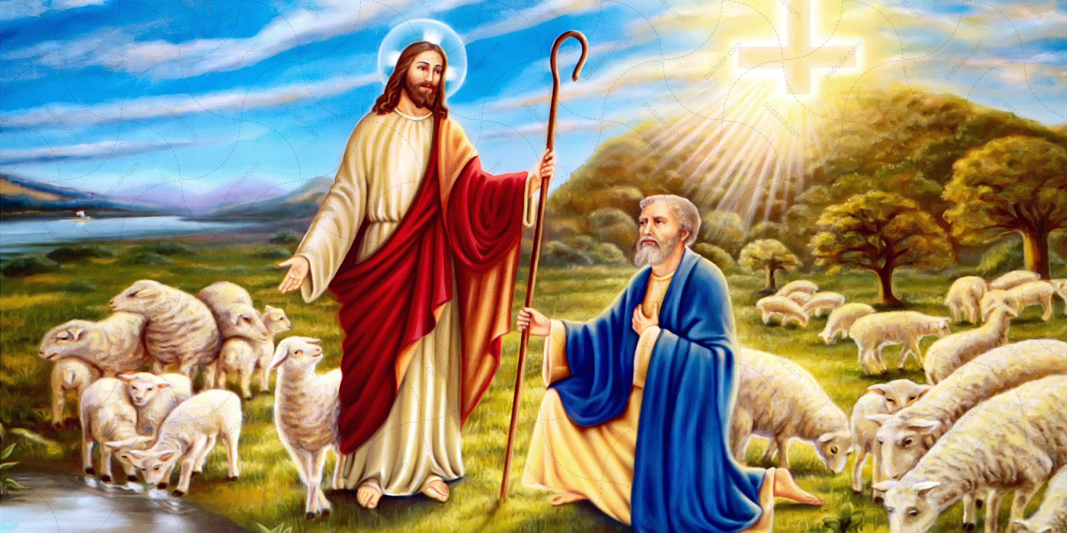 Иисус и Петр
