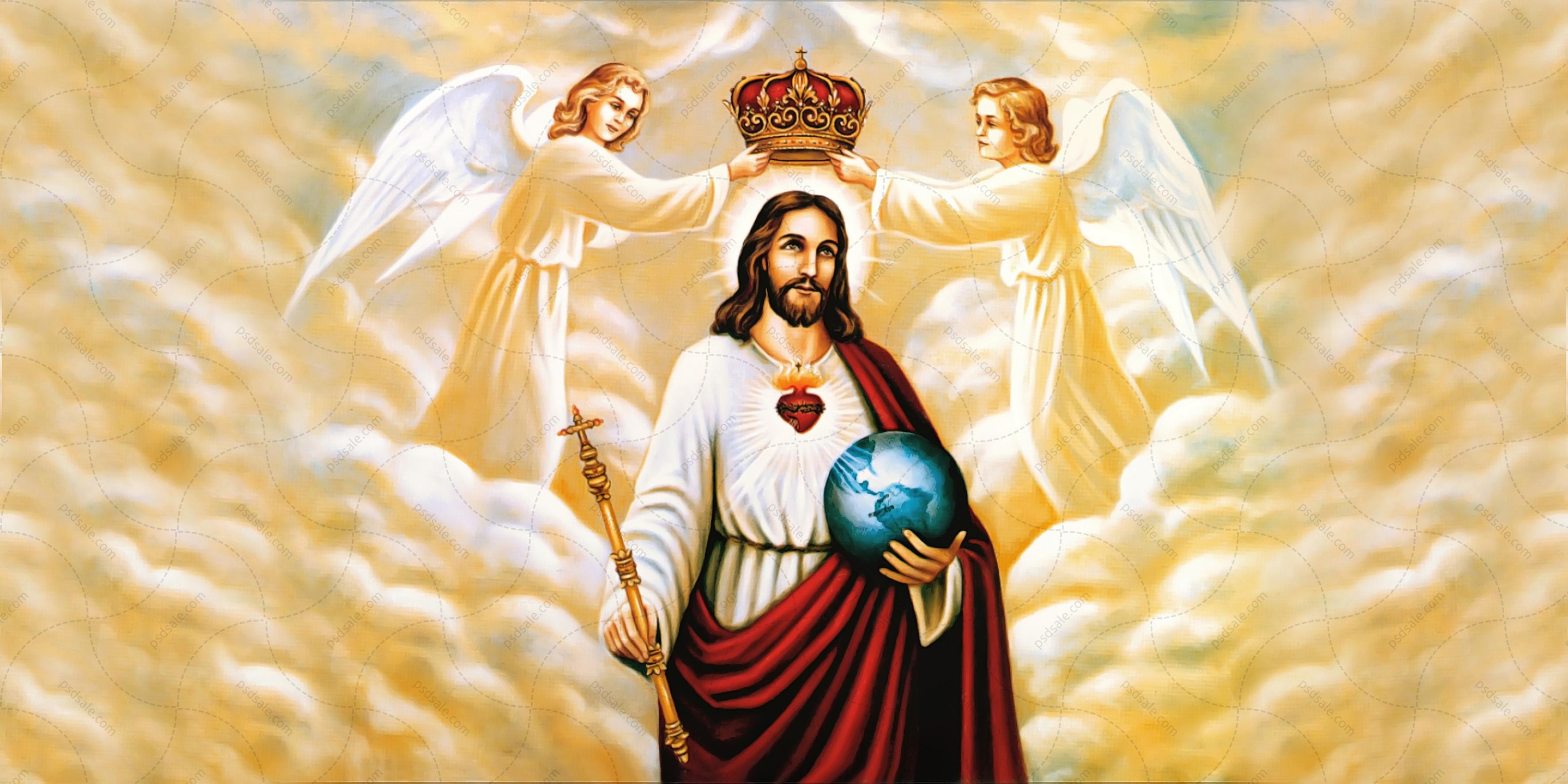 Иисус с ангелами