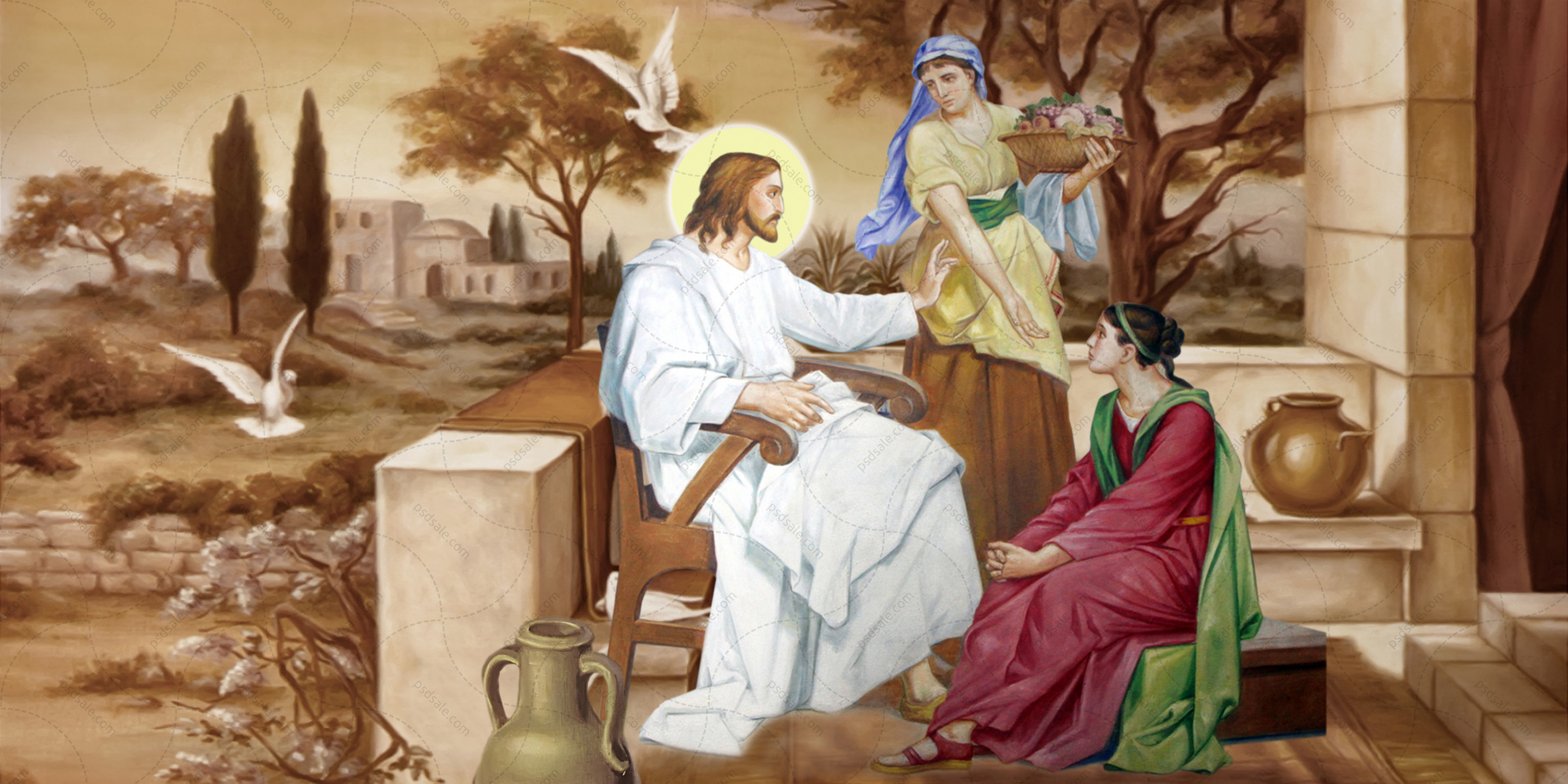Сестры Марфа и Мария