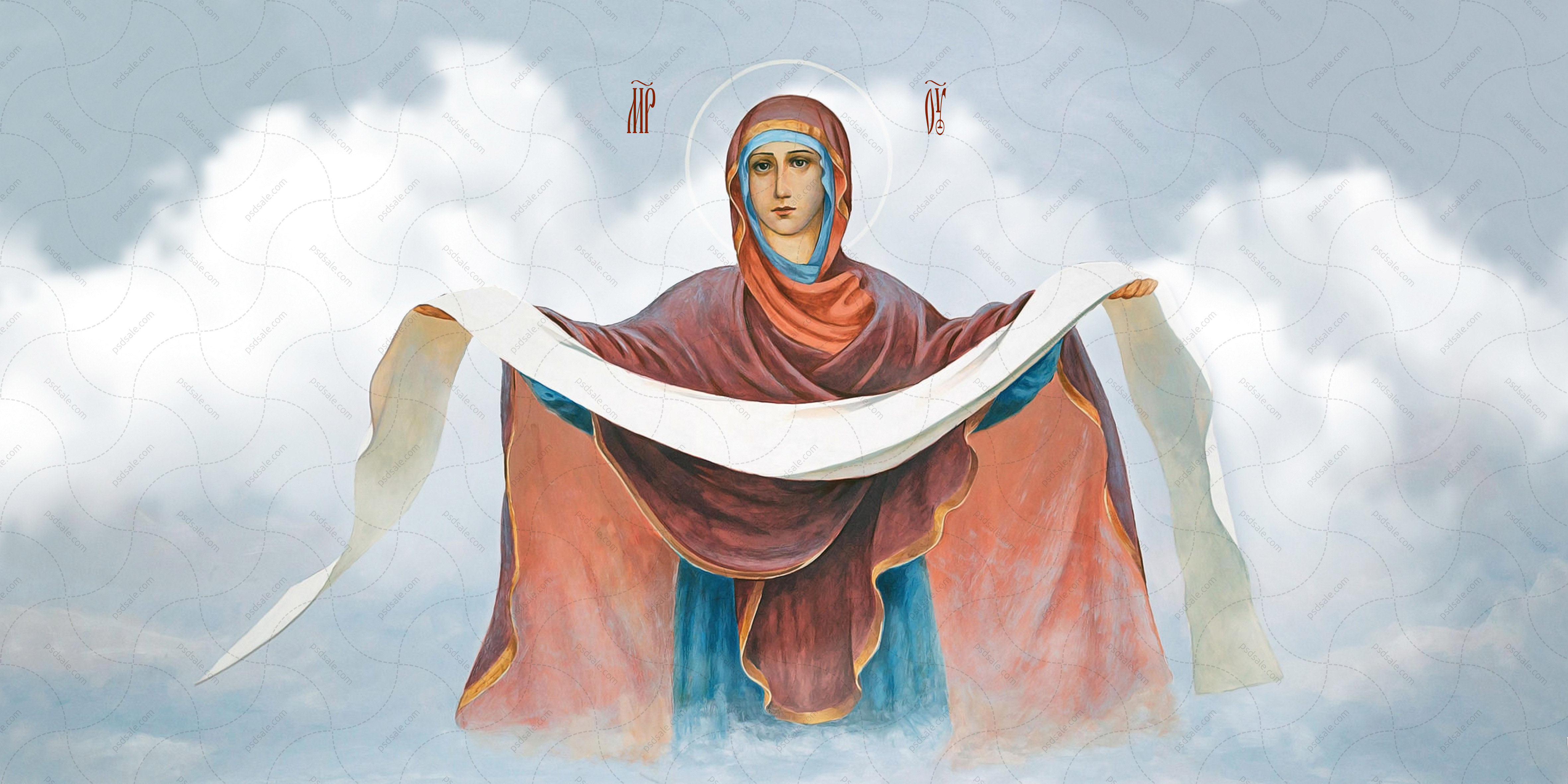 Покрова икона божьей матери